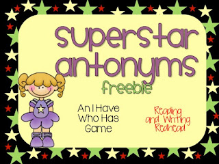 Practice Antonyms with this Freebie Game