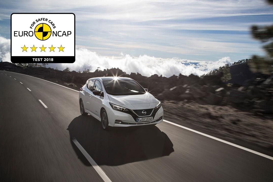 Το νέο Nissan LEAF κατέκτησε την κορυφαία βαθμολογία των 5 αστέρων