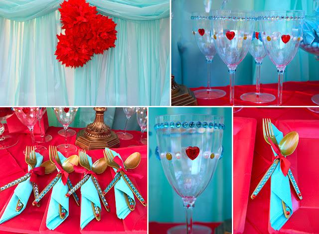 decoração mesa festa elena avalor