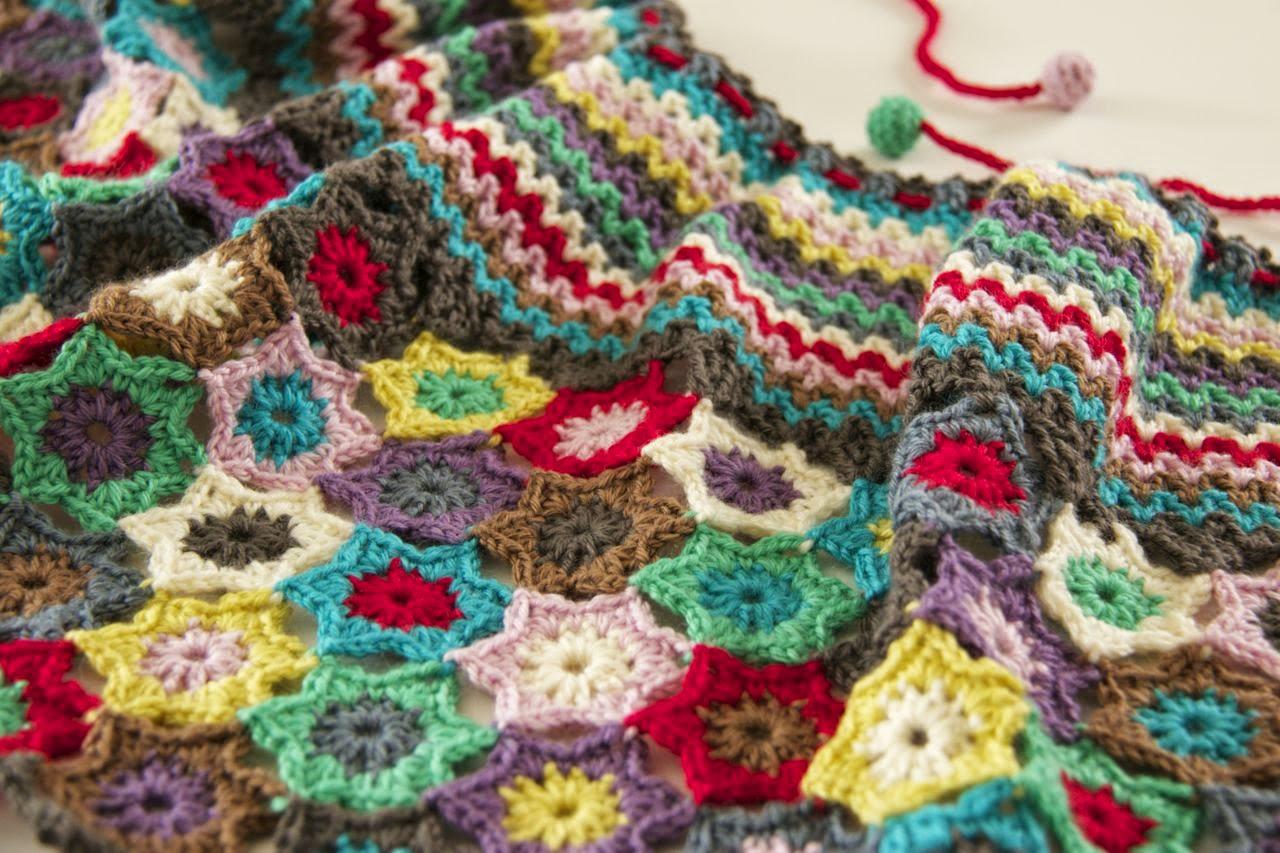 Close up detail shot of stars and v-stitch neckline
