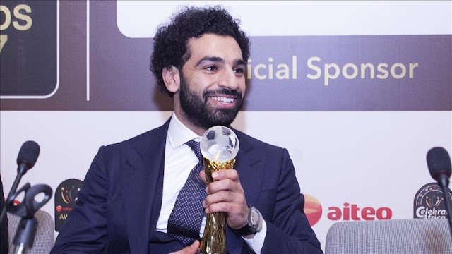 Mohamed Salah Player Of The Year 2018