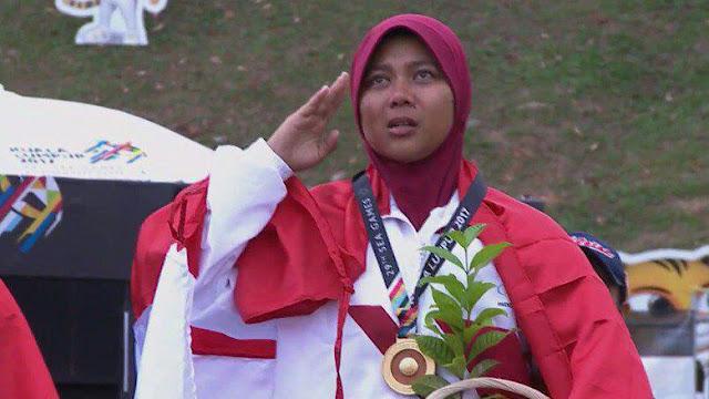 Dua Emas Pertama Telah Diraih, Menpora: Semoga Indonesia Raya Terus Berkumandang