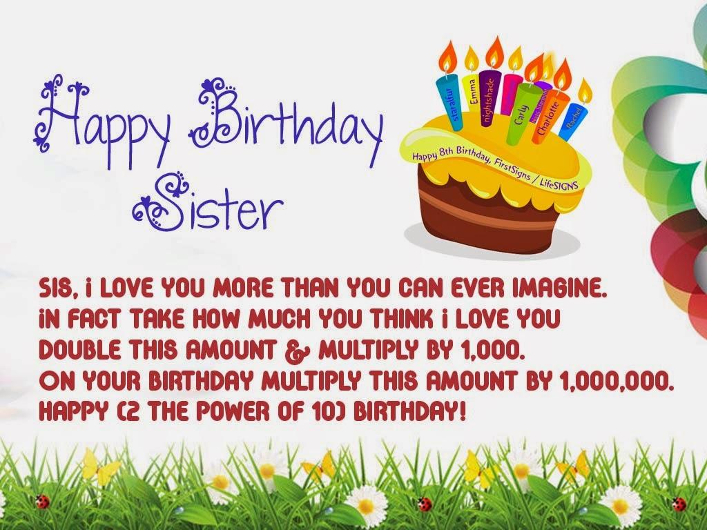 Happy Birthday Wishes Shayari In English For Sister Birthday Sms In