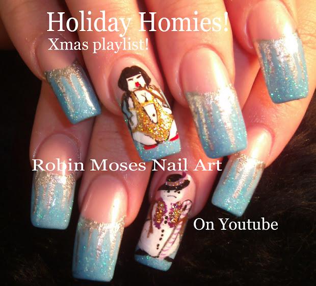 Robin Moses Nail Art Designs Christmas