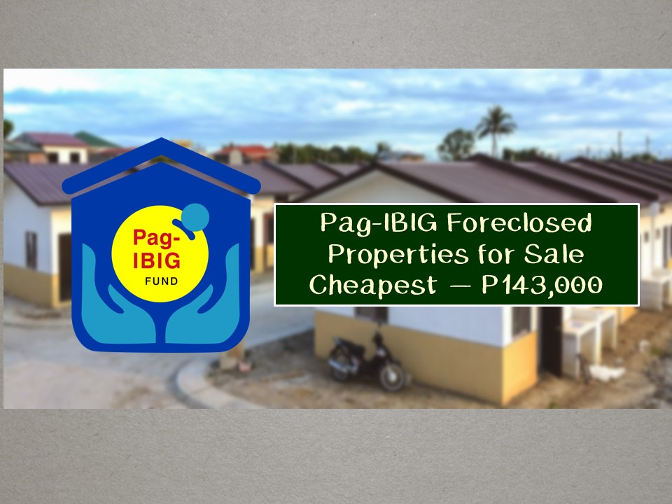 Pag-IBIG Fund is one of the many government agencies that offer acquired properties or foreclosed properties for sale through public auctions. So if you are looking for real properties to buy, foreclosed properties are a good option especially if you are looking for a cheaper property to acquire. Below is the list of PAG-IBIG acquired properties for sale for the month of June 2019!  You can check here for the complete list of foreclosed properties from Pag-IBIG!   Jbsolis.com is not affiliated nor connected with Pag-IBIG Fund. This post is for general purposes only. This list is not intended as a recommendation of any particular company or product. To find the right opportunity for you, regardless of cost, it's important that you do your due diligence. Please transact only with the bank's authorized personnel. Jbsolis is not liable for any transaction or contract entered into that is related to this listing.