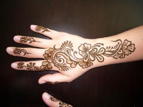 Arabic and Indian Beautiful Hand Mehndi Designs for Eid 2013-14