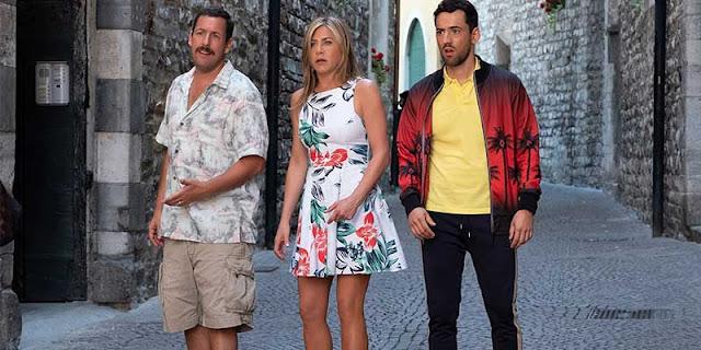 Criminales en el mar, Netflix, Jennifer Aniston y Adam Sandler