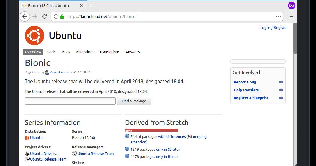 Ubuntu Buzz !: Source Code Adventure #1: Ubuntu, Launchpad