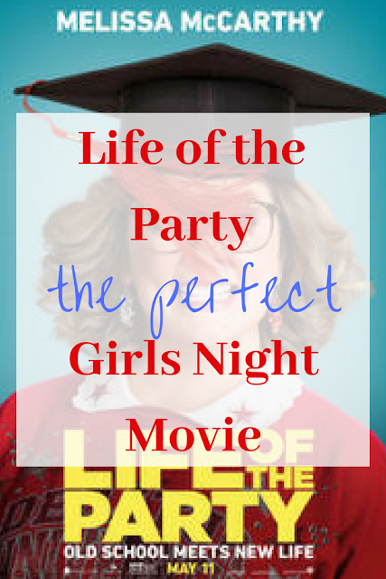 Pinnable image for my review of Life of the Party