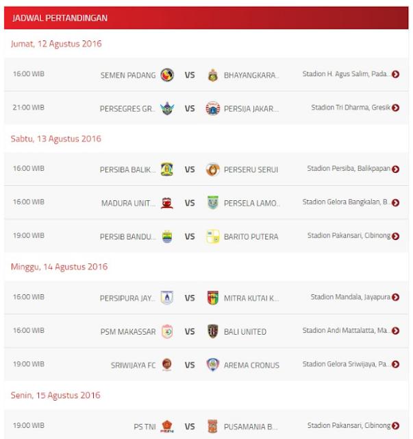 JADWAL BOLA MALAM HARI INI LIVE DI TV RCTI, MNCTV, SCTV Dan Indosiar : Liga Inggris, ISC/TSC, Piala Super Spanyol, Piala Super Jerman Dan Olimpiade Rio 2016