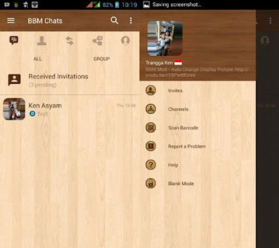 BBM MOD Wood Standard v3.3.1.24 APK