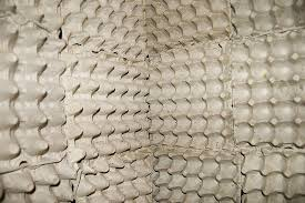 egg cartons for soundproofing