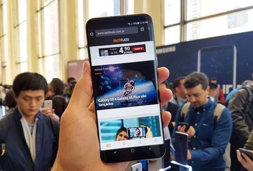 Galaxy S8 roda Android 7.0 Nougat