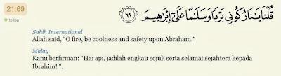 Image result for surah al anbiya ayat 69