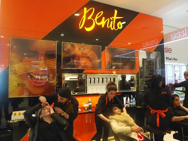 BENITO BROW BAR - EYEBROW TREATMENTS.