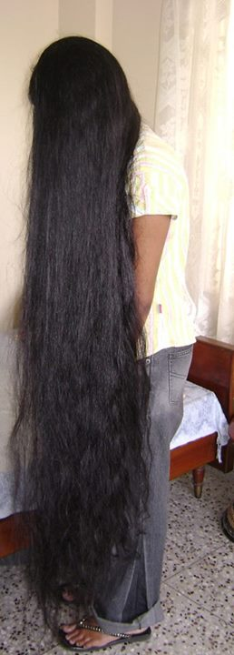 Hair Care And Beauty Tips: Long Hair Model with knee ...