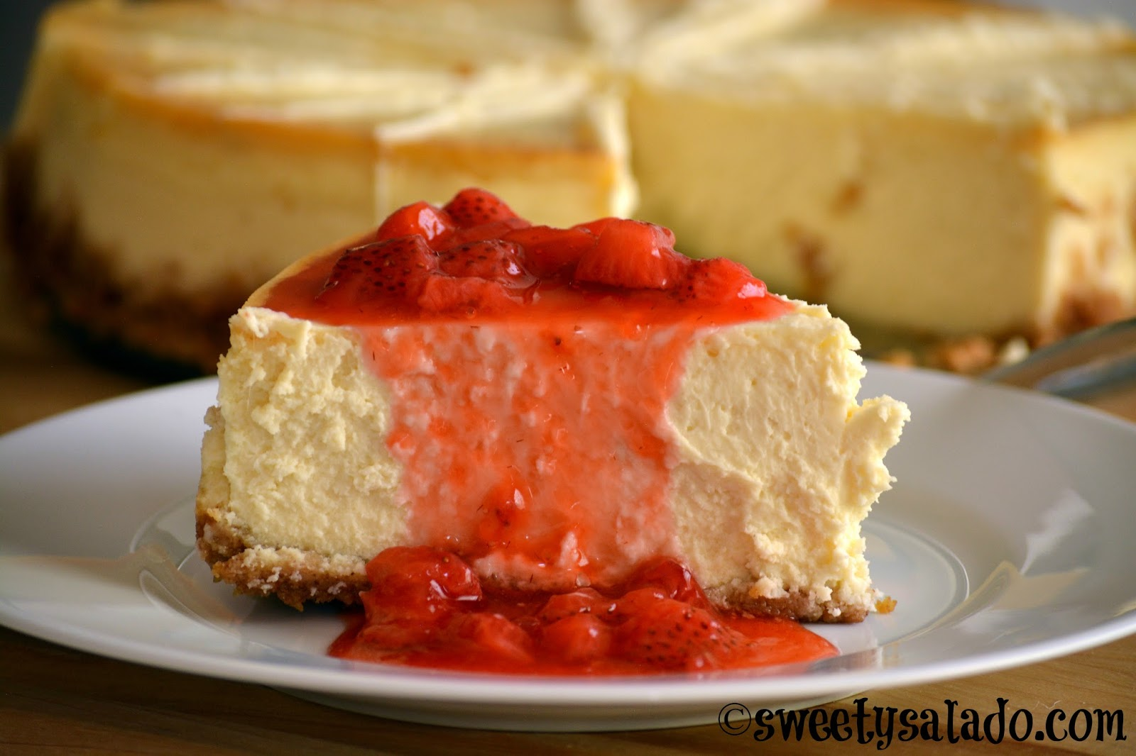 Cheesecake O Pastel De Queso Sweet Y Salado