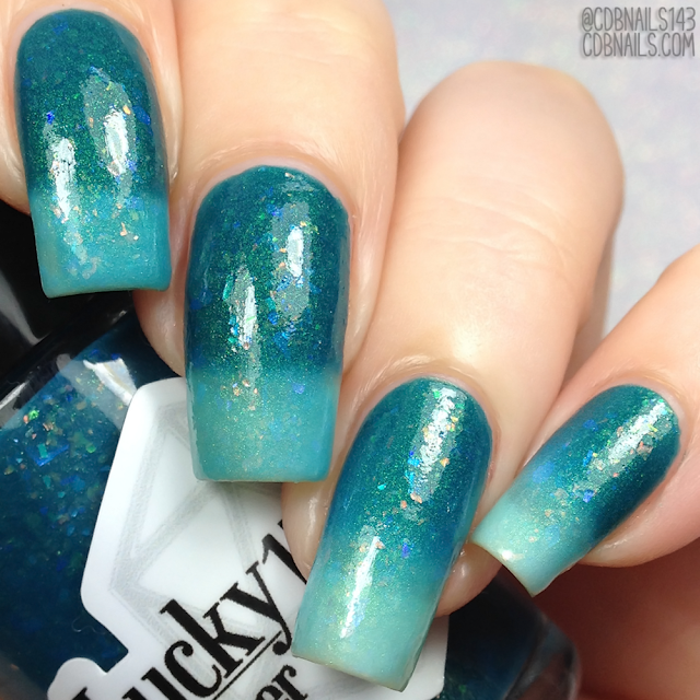 Lucky 13 Lacquer-Secretly A Mermaid