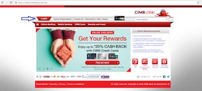 Cara transfer duit dari CIMB ke akaun lain menggunakan CIMB clicks
