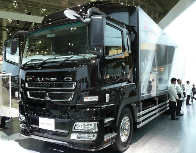 gambar model truk mitsubishi fuso modifikasi
