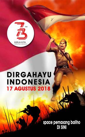 Baliho 17 Agustus : baliho, agustus, Spanduk, Banner, Tahun, Daguku, Advertising