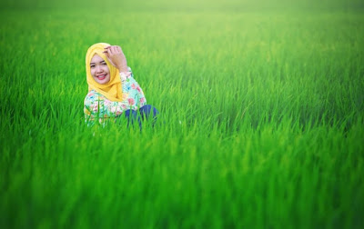 Tips Konsep Hunting Foto Hijab Natural di lapangan