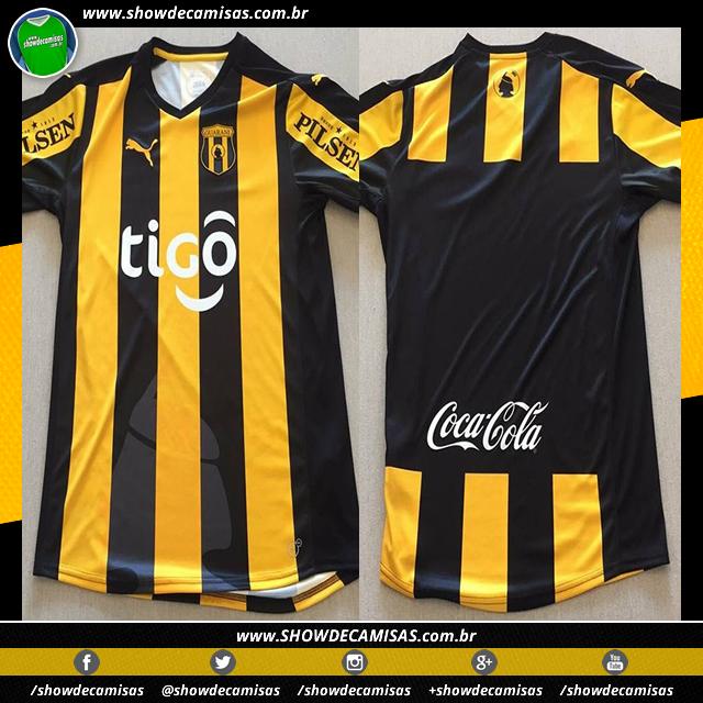 Puma lança as novas camisas do Club Guaraní - Show de Camisas d470273c7711b