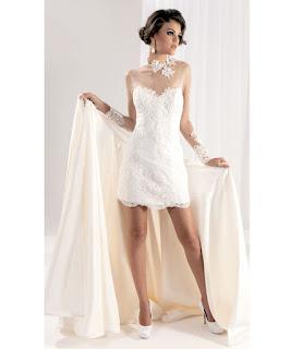 vestidos de noiva curtos para casamento civil - fotos e dicas