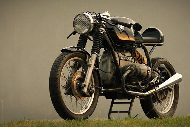 vintage racers bmw r75 6 cafe racer via bike exif. Black Bedroom Furniture Sets. Home Design Ideas