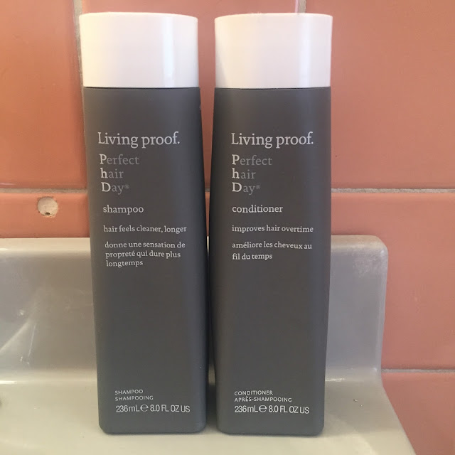 Living Proof, Living Proof Perfect Hair Day Shampoo, Living Proof Perfect Hair Day Conditioner, shampoo, conditioner, hair products