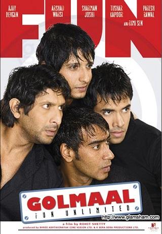Golmaal 2006 Hindi 720p HDRip Movie Download