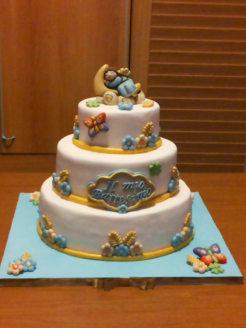 Estremamente Il dolce forno di May: Torta Thun Angioletto sulla luna OG68