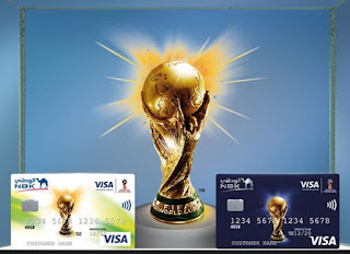 Source: NBK website. The NBK FIFA World Cup prepaid  cards.