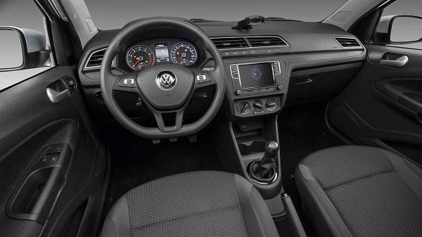Interior Volkswagen Voyage 2019 Argentina