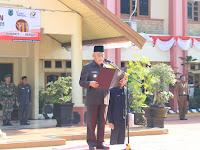 Bupati HSU Pimpin Peringatan Hari Kebangkitan Nasional ke-111. Sampaikan Pesan Menteri Kominfo RI Rudiantara