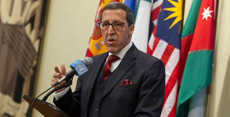 Le Maroc préside à l'ONU une réunion sur le contre terrorisme.