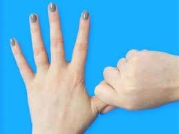 अंगूठा और उंगलिया बताती स्वभाव