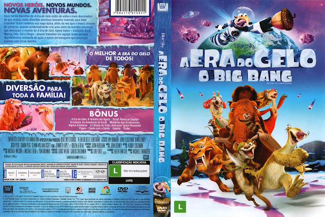 Capa DVD A Era Do Gelo O Big Bang