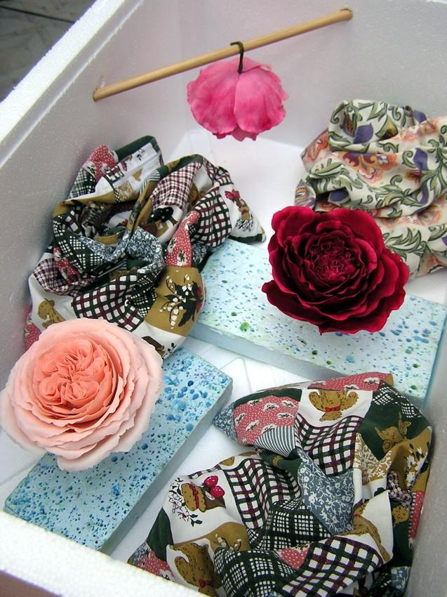 Blumen aus Blütenpaste Trockenmittel gumpaste flowers silicat