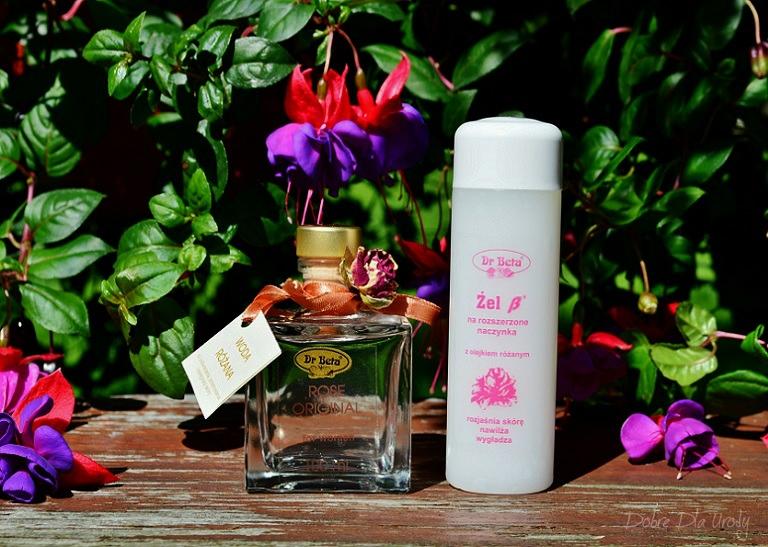 Dr Beta Różane kosmetyki do pielęgnacji twarzy - Woda Różana i Żel ß