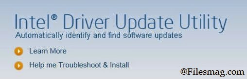 Intel Drivers Update Utility Free Download