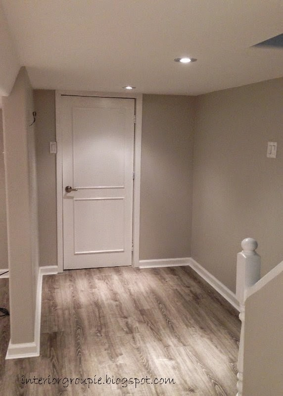 Interior groupie basement reno the almost finished - Best paint for interior wood floors ...