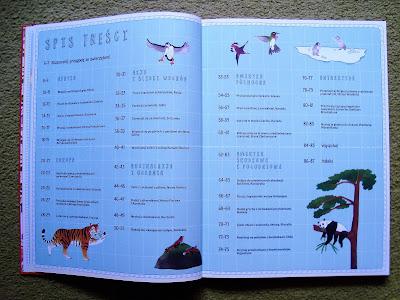 atlas przygód zwierząt, książka z ilustracjami o zwierzętach, książka dla dzieci