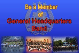 GHQ Band of AFP  is Hiring New Members