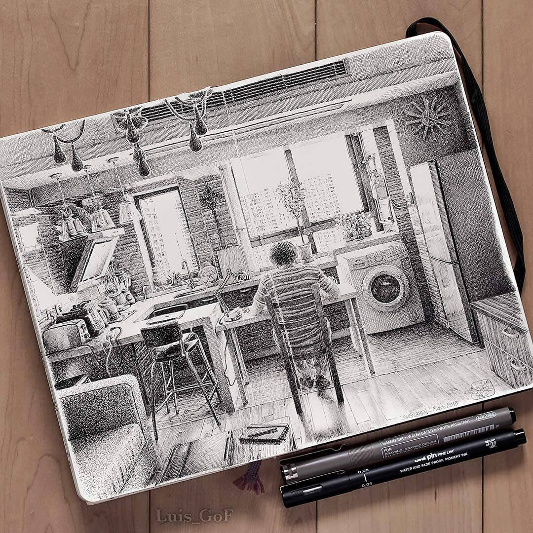 02-My-kitchen-LG-Feliu-Interior-Design-Travel-Diary-Drawings-www-designstack-co