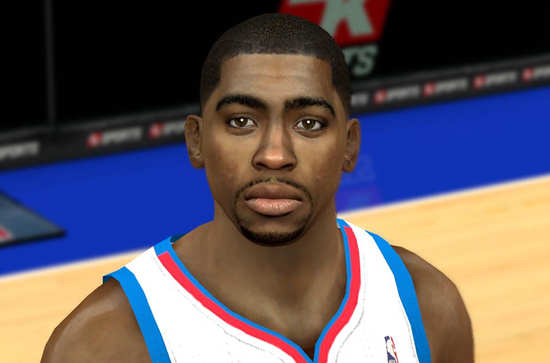 NBA 2K14 Hollis Thompson Face Mod