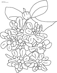 Mistletoe Coloring Page 10
