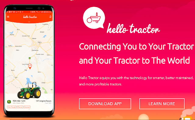 Hello Tractor App to Create Win-Win situation