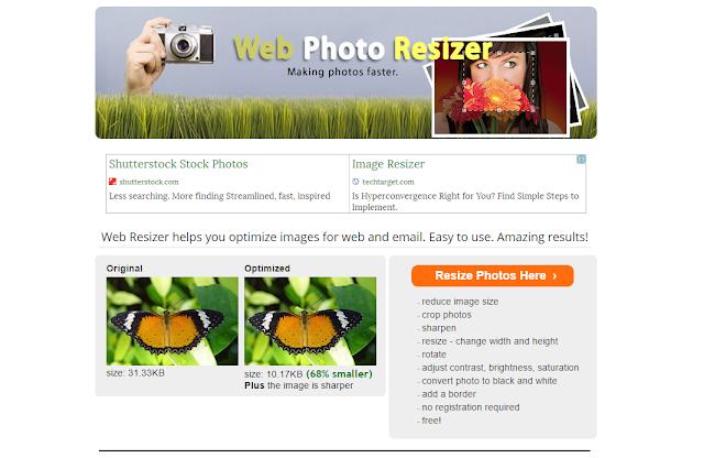 Ini 5 Situs Terbaik untuk kompress Ukuran Gambar/Foto