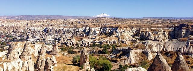 Göreme Panorama na região da Capadócia